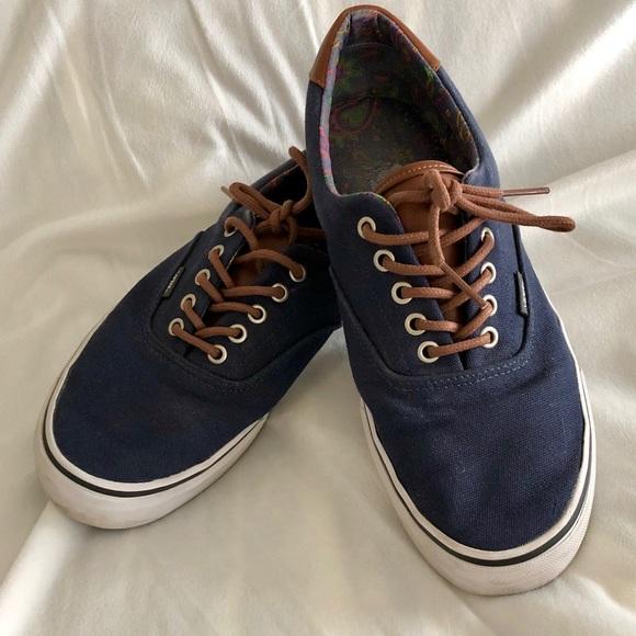 VANS Classic Navy Shoes Men's 10.5 Women's 12